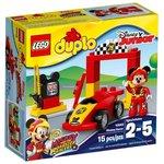 Конструктор LEGO duplo Гоночная машина Микки 10843