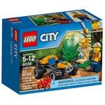 Конструктор LEGO City Багги для поездок по джунглям 60156