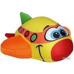 Мягкая игрушка СмолТойс Самолетик 2729/ЖЛ/23 желтый