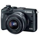 Фотоаппарат Canon EOS M6 Kit 18-150mm (серебристый)