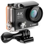 Экшен-камера X-try XTC150 (черный)