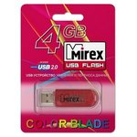USB Flash Mirex Color Blade Elf Yellow 4GB [13600-FMUYEL04]