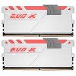 Оперативная память DDR4 32GB KITof2 PC-19200 2400MHz GEIL EVO X White (GEXG432GB2400C16DC) CL16 1.2V