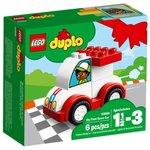 Конструктор Lego Duplo My First Мой первый гоночный автомобиль 10860