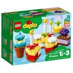 Конструктор Lego Duplo My First Мой первый праздник 10862