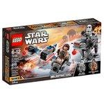 Конструктор Lego Star Wars Бой пехотинцев Первого Ордена против Спидера 75195