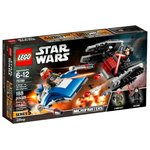 Конструктор Lego Star Wars Истребитель A против бесшумного истребителя СИД 75196