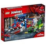 Конструктор LEGO Juniors 10754 Решающий бой Человека-паука против Скорпиона