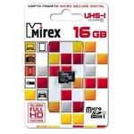 Карта памяти Mirex 13612-MCSUHS16 microSDHC 16GB