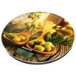 Весы кухонные Marta MT-1635 (черная олива)