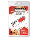 USB Flash Oltramax 250 4GB (красный) [OM-4GB-250-Red]
