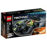 Конструктор инерционный Lego Technic Зеленый гоночный автомобиль 42072