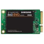 Накопитель SSD Samsung mSATA 250Gb MZ-M6E250BW 860 EVO mSATA