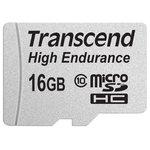 Карта памяти Transcend microSDHC HE (Class 10) UHS-I 16GB + адаптер [TS16GUSDHC10V]