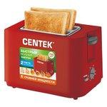 Тостер CENTEK СТ-1425 (красный)