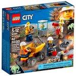 Конструктор LEGO City Бригада шахтеров (60184)