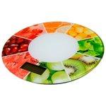 Кухонные весы Supra BSS-4603 белый/ягоды