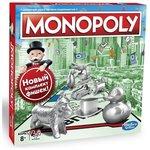 Настольная игра Hasbro Классическая монополия. Обновленная ,  C1009