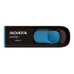 USB Flash A-Data DashDrive UV128 Black/Blue 128GB (AUV128-128G-RBE)