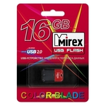 USB Flash Mirex ARTON RED 16GB (13600-FMUART16)