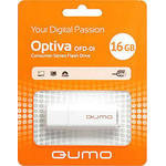 16GB USB Drive Qumo Optiva 01 White