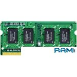 Оперативная память Apacer 8GB DDR3 SO-DIMM PC3-12800 [AS08GFA60CATBGJ]