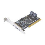 Контроллер ST-Lab A-224 SATA150 ,2ext 4 port RAID 0/1 (SI3114), PCI, Retail