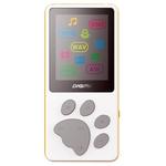 MP3 плеер Digma S3 4Gb белый/оранжевый