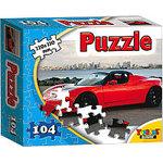 Пазл Topgame Красное авто / 01296