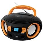 Аудиомагнитола BBK BS15BT Black/Orange