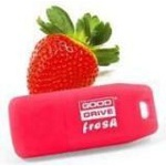 2GB USB Drive Gooddrive Fresh (PD2GH2GRFSR9) with flavour STRAWBERRY