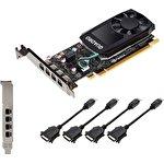 Видеокарта PNY Nvidia Quadro P1000 DVI 4GB GDDR5 VCQP1000DVIV2BLK-1