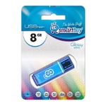 8GB USB Drive SmartBuy Glossy (SB8GBGS-B)