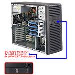 Сервер на базе процессора Intel Quad Core Xeon E3-1220