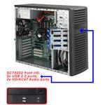 Сервер SuperMicro на базе процессора Intel Quad Core Xeon E3-1225