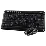 Клавиатура+Mышь A4Tech 7600N (GL-5+G7-300N)