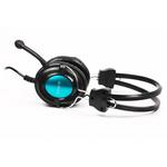 Наушники с микрофоном A4Tech HS-19-3 Black, Blue