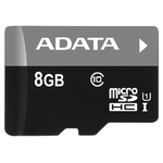 Карта памяти 8GB MicroSD A-Data Premier (AUSDH8GUICL10-RA1)