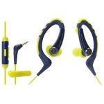 Наушники Audio-Technica ATH-SPORT1iSNY Yellow/Blue