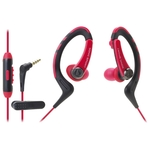 Наушники Audio-Technica ATH-SPORT1iS Red