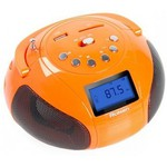 Аудиомагнитола Rolsen RBM411OR Orange
