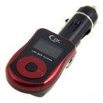 Автомобильный FM модулятор Atomic T665C Black-Red