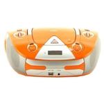 Аудиомагнитола BBK BX325U Orange/Silver