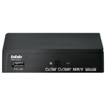 ТВ-тюнер BBK SMP014HDT2 (темно-серый)