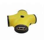 USB-концентратор CBR CH-100 Yellow