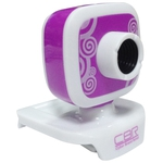 Вебкамера CBR CW-835M Purple