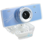 Вебкамера CBR Simple S3 Blue