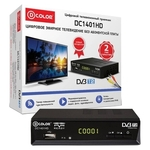 ТВ-тюнер D-Color DC1401HD Black