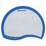 Коврик для мыши Defender MPMOON-SHAPE Ergo opti-laser, синяя окантовка, по форме