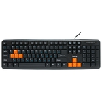 Клавиатура Dialog KS-020U Black-Orange USB